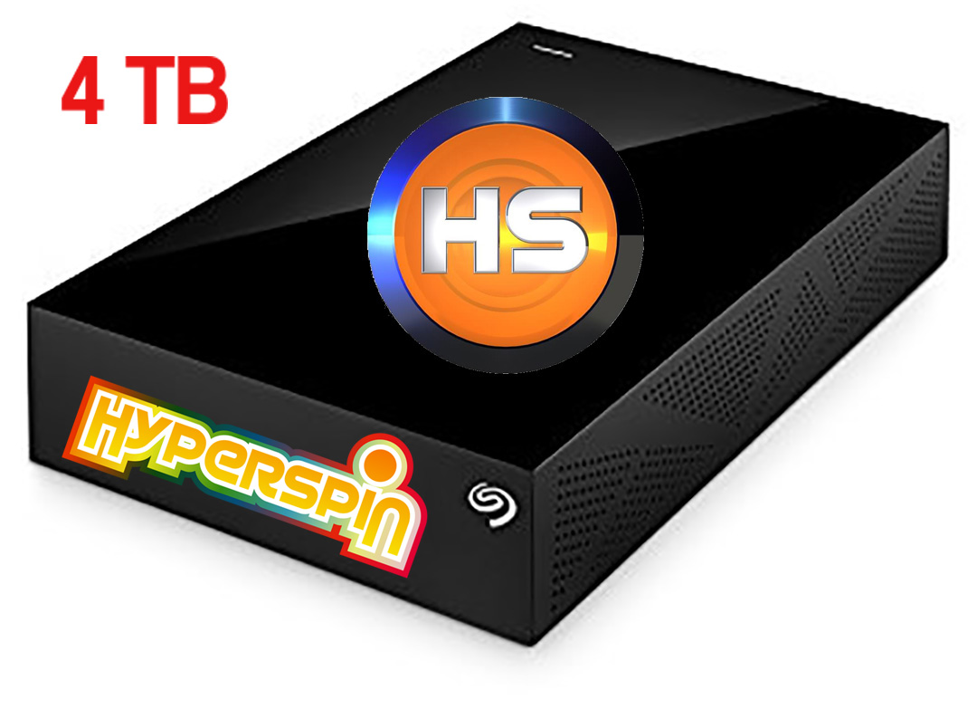 games Hyperspin 2581624TB HDD OVER 100 systems with 45000 Windows 10 Ready!