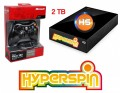 2TB Hyperspin Hard Disk EXTERNAL with Microsoft Xbox 360 Wireless Controller & Receiver