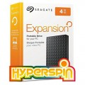 Complete 4TB HyperSpin System on Seagate Expansion Portable External Hard Drive